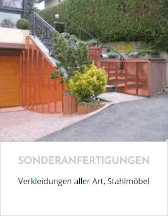 Stahl-Metall-Sonderanfertigungen für  Biebelnheim