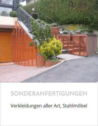 Stahl-Metall-Sonderanfertigungen in Linsengericht