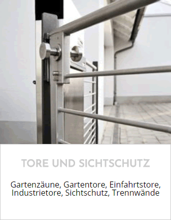 Tore, Sichtschutz aus  Johannesberg