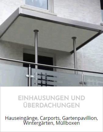 Überdachungen, Vordächer